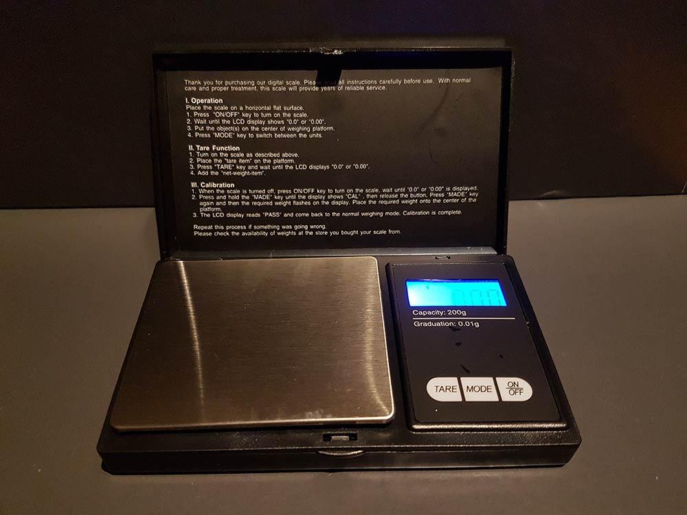 Digitalwaage 001 Gramm