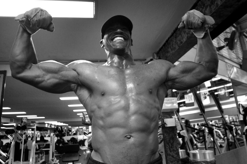 Muskel Pump Supplement Bodybuilder